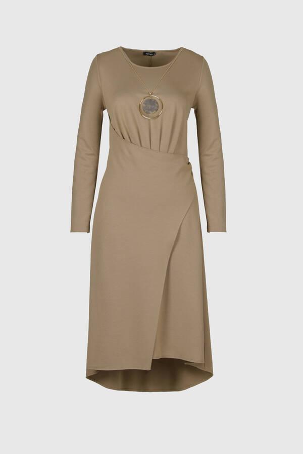 Asimetrik Örme Elbise