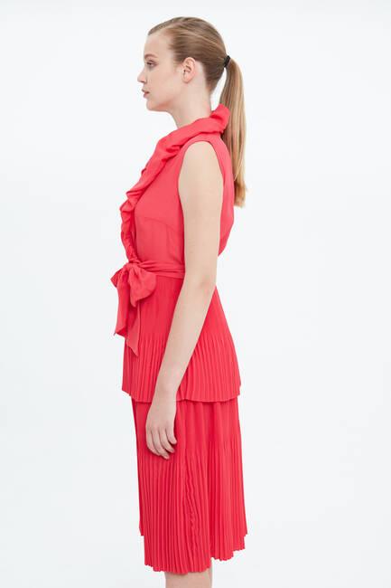Balon Yaka Elbise - Thumbnail