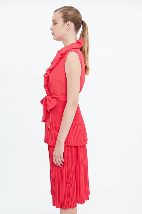 Balon Yaka Elbise